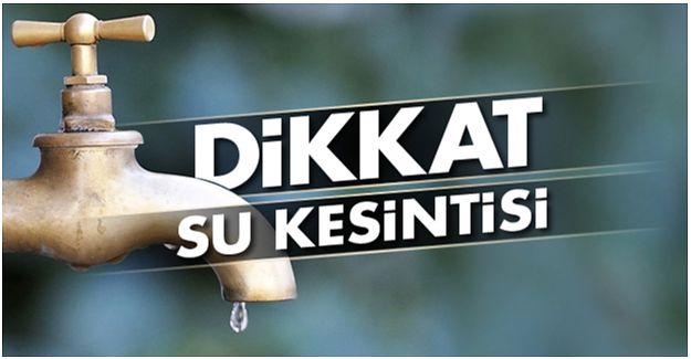 AKÇAKOCA'DA SU KESİNTİSİNE DİKKAT