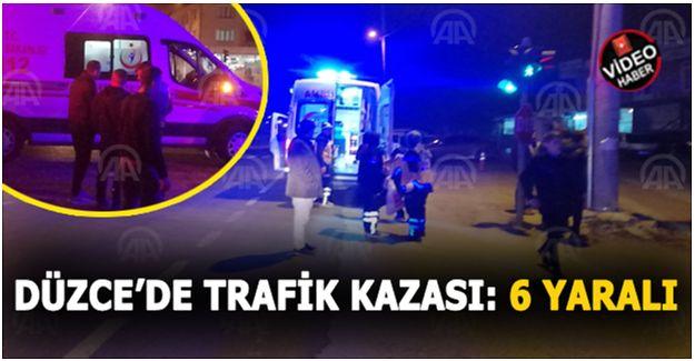 3'ü çocuk 6 kişi yaralandı.