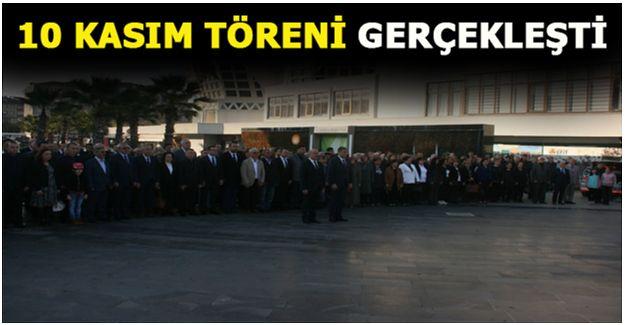 Akçakoca'da 10 Kasım töreni