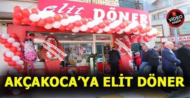 """AKÇAKOCA DÖNERİN """"ELİTİNE"""" KAVUŞTU"""