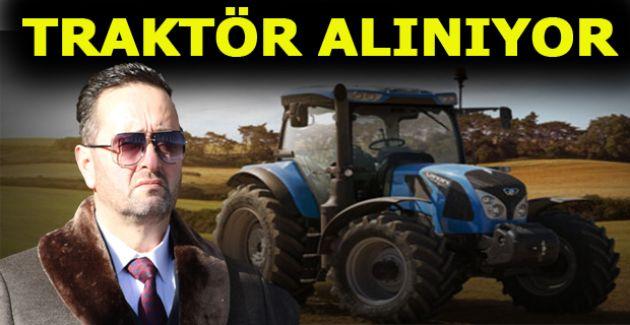 BELEDİYE'YE TRAKTÖR ALINIYOR