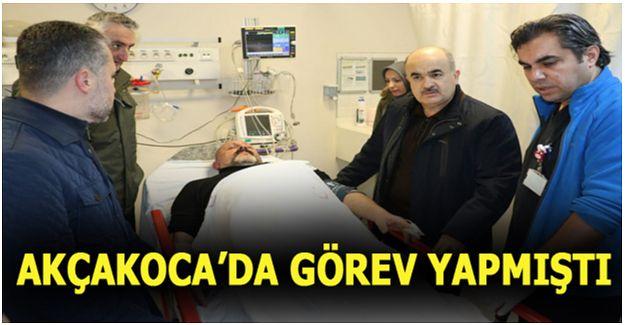 DÜZCE'DE POLİS-TORBACI KOVALAMACASI: 3 YARALI
