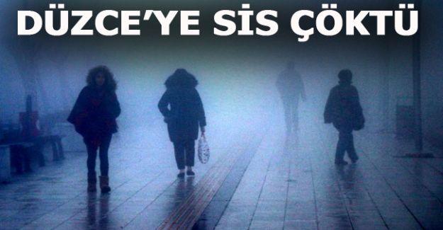 Yoğun sis etkili oluyor - DÜZCE