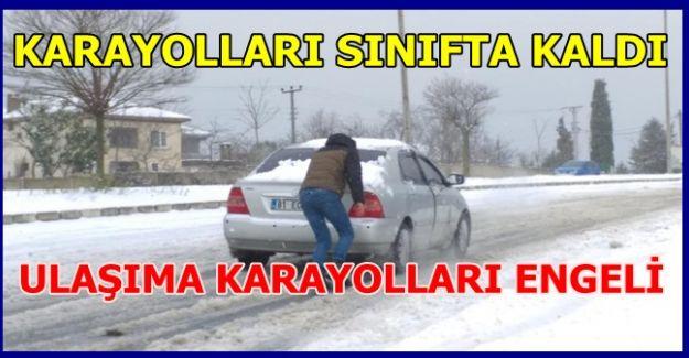 KARAYOLLARI EKİPLERİ SINIFTA KALDI