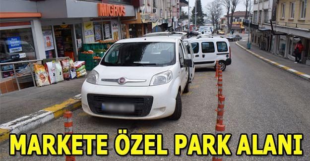 MİGROS'A… ÖZEL PARK ALANI