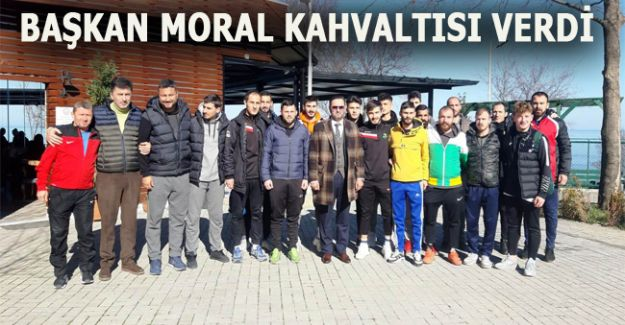 PLAY OFF MÜCADELESİ ÖNCEKİ MORAL KAHVALTISI VERDİ
