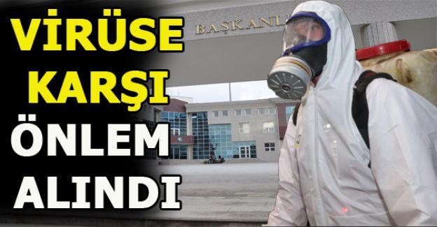 Akçakoca Belediyesi'nden korona virüs önlemi