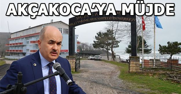 AKÇAKOCA'YA 5 YILDIZLI OTEL MÜJDESİ!