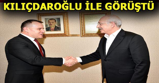 CHP Akçakoca İlçe başkanı Tuğrul Abanoz, Genel Başkan Kemal Kılıçdaroğlu ile görüştü.