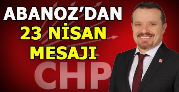Başkan Abanoz Kutlama Mesajı Yayımladı