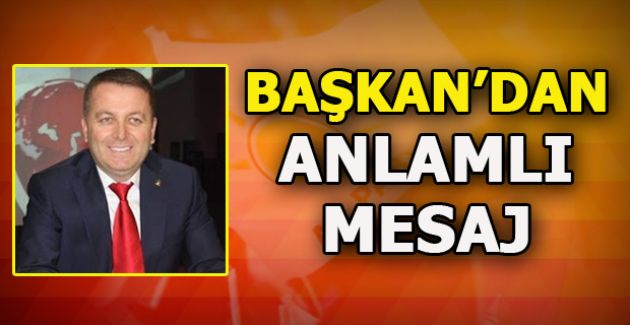 Başkan Sarıoğlu 23 Nisan Egemenlik ve Çocuk Bayramını Kutladı