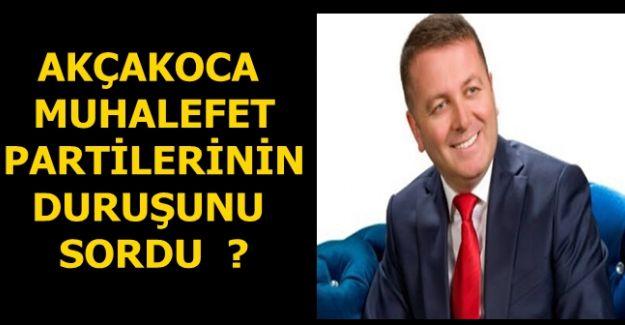 Başkan Sarıoğlu soruyor ? Teşekkür eden muhalefet gördünüz mü ?