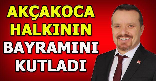 CHP İlçe Başkanı Abanoz, Ramazan Bayramını Kutladı