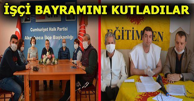 CHP İlçe Teşkilatı 1 Mayıs İşçi Bayramını Kutladı