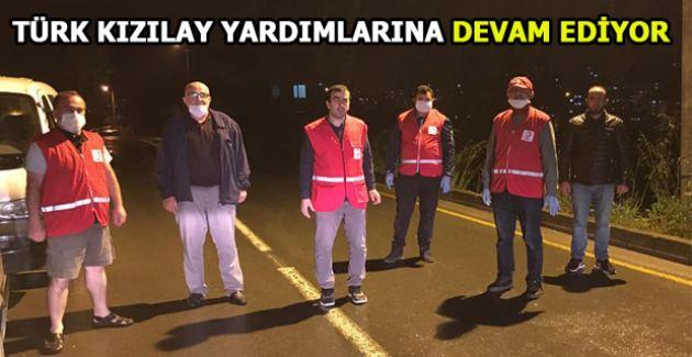 Türk Kızılay Akçakoca Şubesi yardımlara devam ediyor