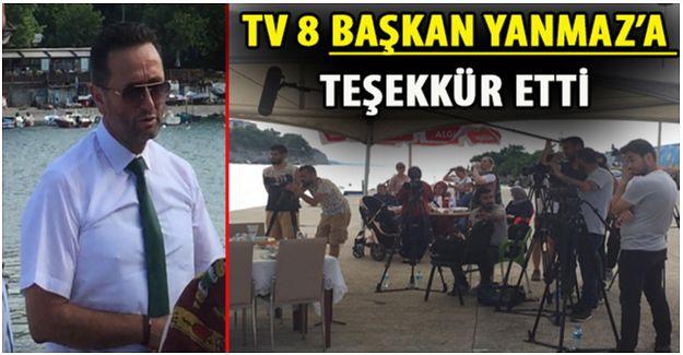 AKÇAKOCA TV8 PROĞRAMINDA (VİDEO HABER)