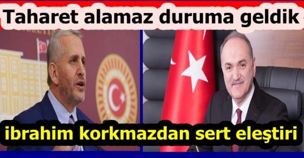 BELEDİYE BAŞKANI FARUK ÖZLÜ'YE SERT ELEŞTİRİ