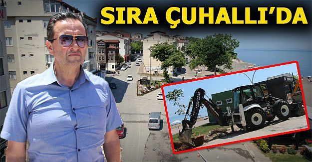 ÇUHALLI'DA HUMMALI ÇALIŞMA BAŞLADI