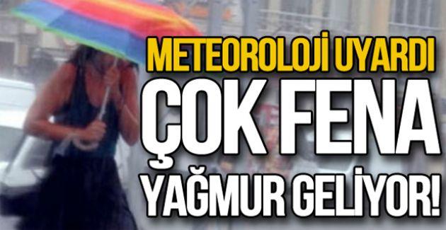 """METEOROLOJİ DÜZCE İÇİN """"SARI UYARI"""" YAPTI"""