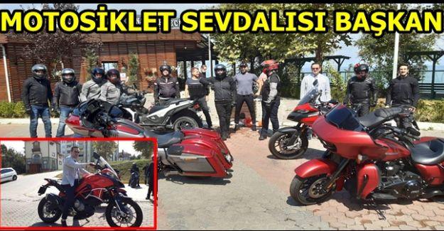 BAŞKAN YANMAZ KLASİK MOTOSİKLET TUTKUNLARI İLE BİR ARAYA GELDİ