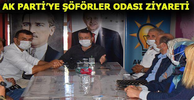 AK PARTİ'YE ZİYARETLER DEVAM EDİYOR