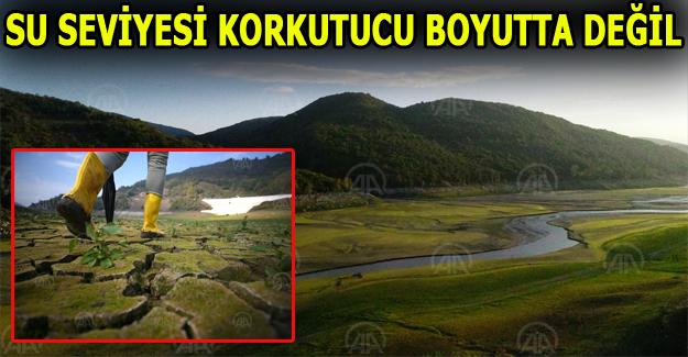 Barajlardaki su seviyesi korkutacak boyutta değil