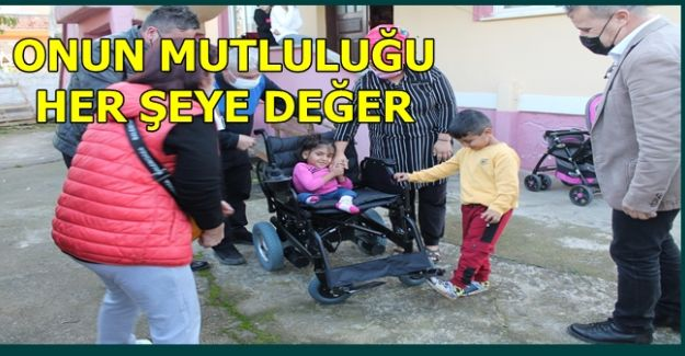 """CHP ENGELLİNİN """"HAYALİNİ"""" GERÇEKLEŞTİRDİ (VİDEOLU)"""