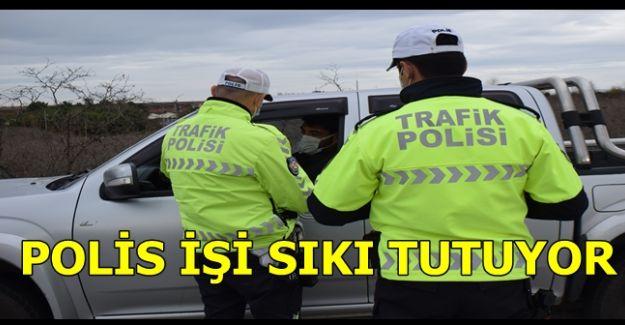 AKÇAKOCA'DA POLİS İŞİ SIKI TUTUYOR (VİDEO HABER)