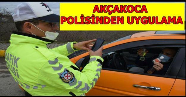 POLİSTEN KIŞ LASTİĞİ UYGULAMASI
