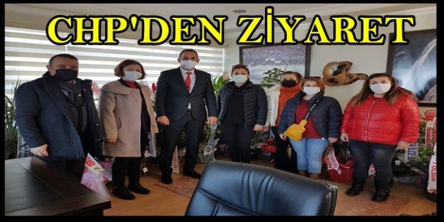 CHP'DEN ORMAN MÜDÜRÜNE ZİYARET