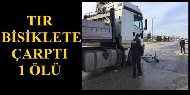 DÜZCE'DE FECİ KAZA 1 ÖLÜ
