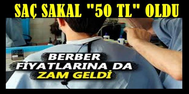 BERBER FİYATLARINA ZAM GELDİ