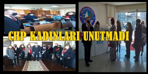 CHP KADINLARI UNUTMADI