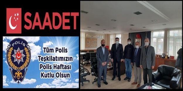 İLK ZİYARET SAADET PARTİSİNDEN GELDİ