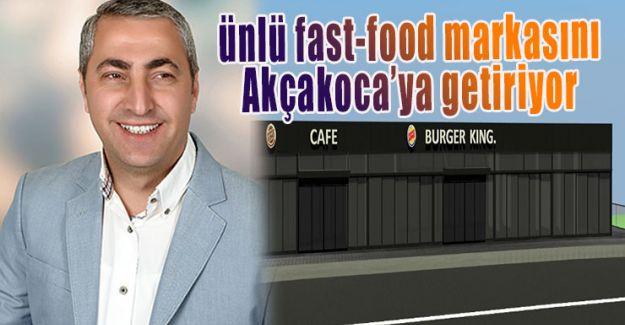 Oğuzhan Sevinç Burger King'i Akçakoca'ya kazandırıyor
