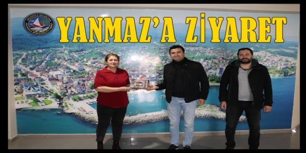 ORGANİZASYON FİRMASINDAN YANMAZ'A ZİYARET