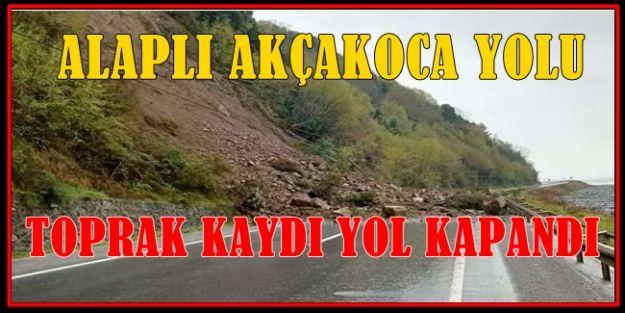 ŞİMDİ DE ALAPLI YOLU...