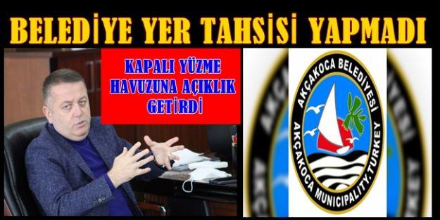 """ESVET BAŞKAN """"TOPU BELEDİYEYE"""" ATTI"""