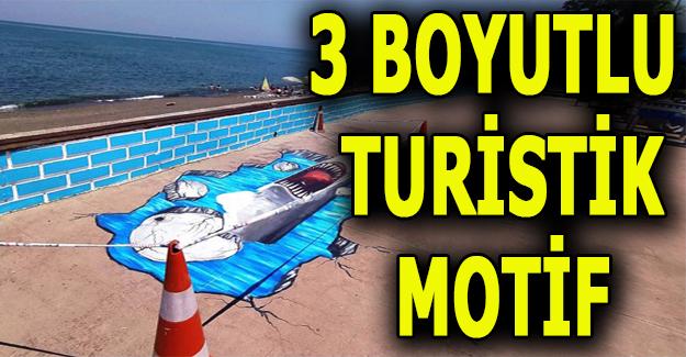 Belediye'den Çuhallı Çarşısı'na Turistik Motifler!..