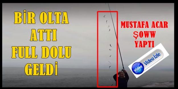 BİR ATTI 15 ÇEKTİ (videolu)