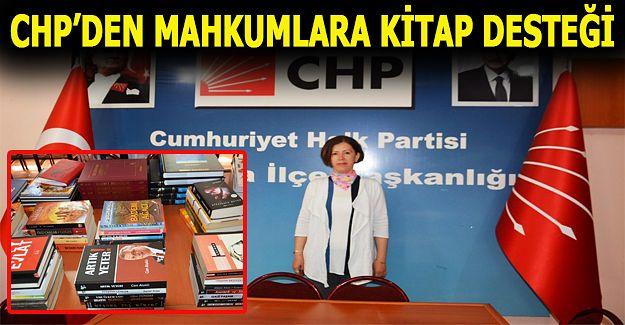 CHP Akçakoca Kadın Kolları Başkanlığından Tutuklu ve Hükümlülere Kitap Desteği