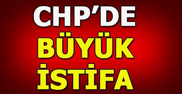 CHP İl YÖNETİMİ İSTİFA ETTİ