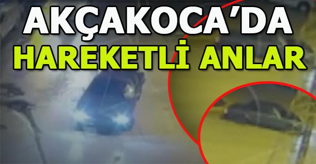 AKÇAKOCA'DA  DRİFT ATAN SÜRÜCÜYE AĞIR CEZA ( videolu)