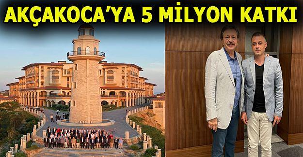 ATSO Başkanı Pazvant: Akçakoca'ya 5 Milyon ek kaynak aktardı