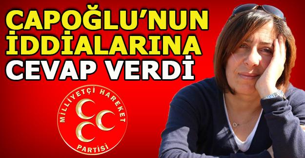CAPOĞLU'NA CEVAP SERT GELDİ!!!