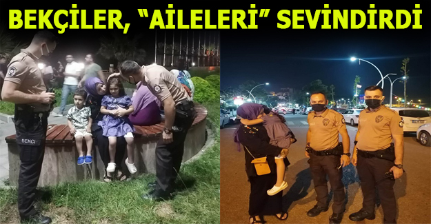 POLİS VE BEKÇİLER TAKDİR TOPLADI