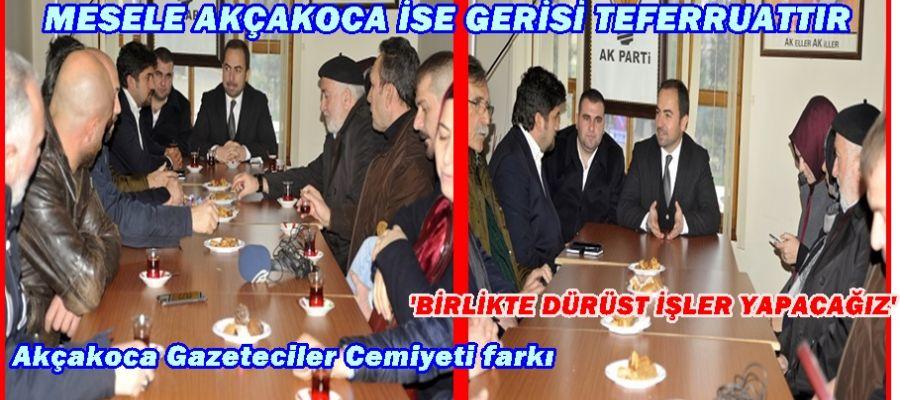 AGC'DEN AK PARTİ'YE ZİYARET