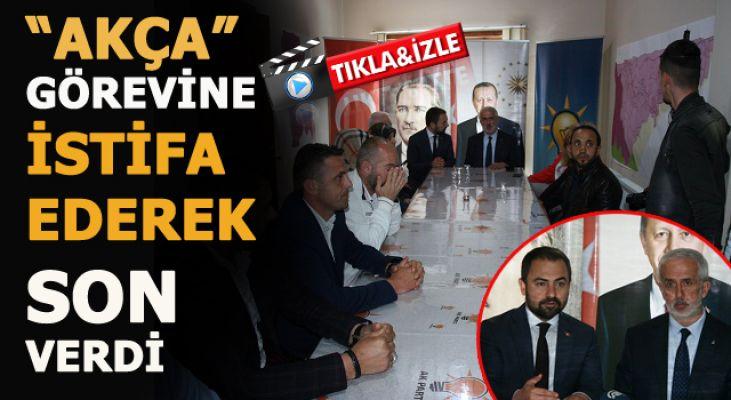Ak Parti Akçakoca İlçe Başkanı Akça ve Yönetimi istifa etti