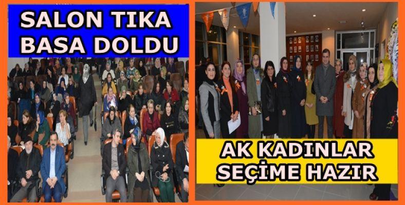 AK Parti Akçakoca İlçe Kadın Kolları Kongresi yapıldı (VİDEOLU)