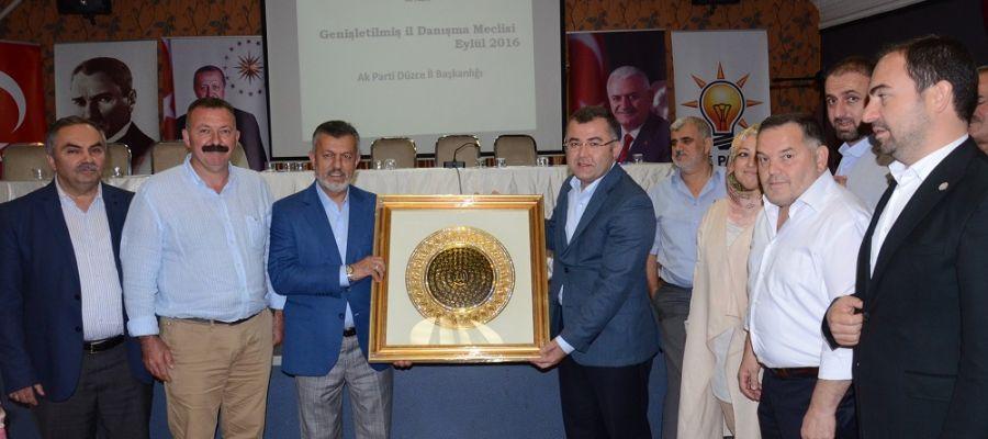 AK Parti Eylül Ayı İl Danışma Toplantısı Yapıldı